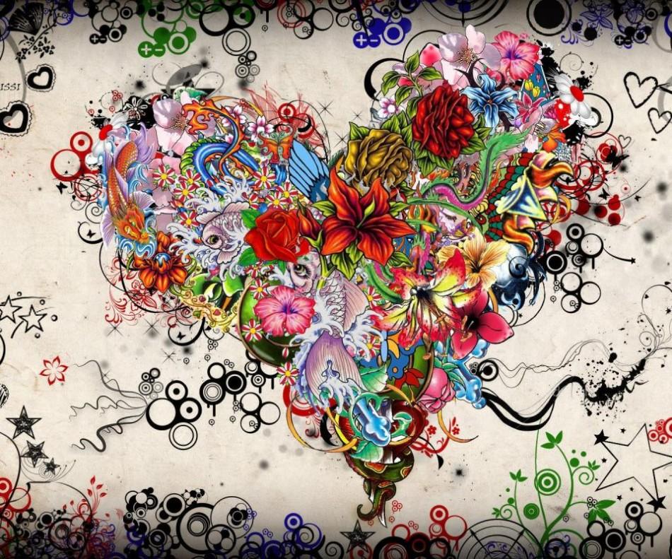 floral-heart-art