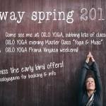 OSLO spring 2015