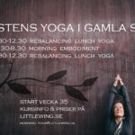 Höstens lunchyoga på YogaMovement, Gamla Stan
