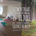 Slow Retreat ~ 15-18 juli i Brevens Bruk tillsammans med Karin Gissberg