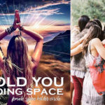 I HOLD YOU HOLDING SPACE® women spaceholder's circle